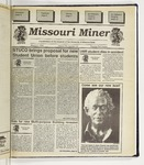 The Missouri Miner, March 09, 1994