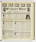 The Missouri Miner, August 31, 1994