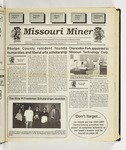 The Missouri Miner, September 28, 1994