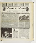 The Missouri Miner, October 19, 1994