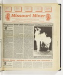 The Missouri Miner, November 02, 1994