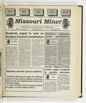 The Missouri Miner, February 01, 1995
