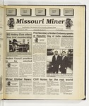 The Missouri Miner, February 22, 1995