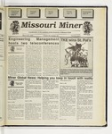 The Missouri Miner, March 22, 1995