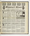The Missouri Miner, April 19, 1995