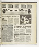 The Missouri Miner, April 26, 1995