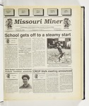 The Missouri Miner, August 30, 1995