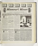 The Missouri Miner, September 13, 1995