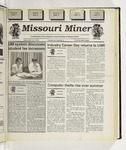 The Missouri Miner, September 20, 1995