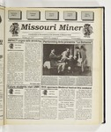 The Missouri Miner, October 18, 1995