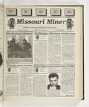 The Missouri Miner, October 25, 1995