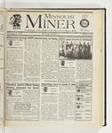 The Missouri Miner, November 29, 1995