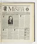 The Missouri Miner, January 18, 1996