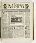 The Missouri Miner, October 16, 1996