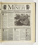The Missouri Miner, October 30, 1996