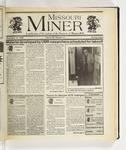 The Missouri Miner, November 13, 1996
