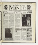 The Missouri Miner, April 23, 1997