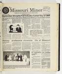 The Missouri Miner, September 10, 1997