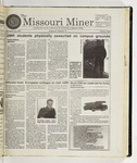 The Missouri Miner, November 12, 1997