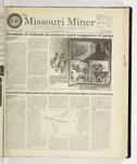 The Missouri Miner, November 19, 1997
