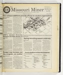 The Missouri Miner, January 22, 1998