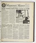 The Missouri Miner, February 11, 1998