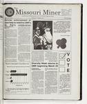 The Missouri Miner, March 25, 1998