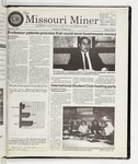The Missouri Miner, April 29, 1998