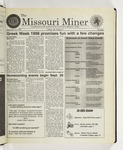 The Missouri Miner, September 16, 1998