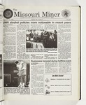 The Missouri Miner, September 30, 1998