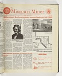 The Missouri Miner, October 28, 1998