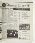 The Missouri Miner, November 18, 1998