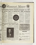 The Missouri Miner, December 09, 1998