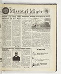 The Missouri Miner, March 10, 1999