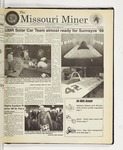 The Missouri Miner, March 31, 1999
