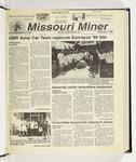 The Missouri Miner, September 01, 1999
