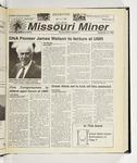 The Missouri Miner, September 15, 1999
