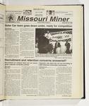 The Missouri Miner, September 29, 1999