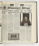 The Missouri Miner, October 13, 1999