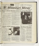 The Missouri Miner, October 20, 1999