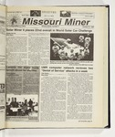 The Missouri Miner, October 27, 1999