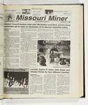 The Missouri Miner, November 10, 1999