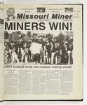 The Missouri Miner, September 07, 2000