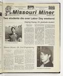 The Missouri Miner, September 13, 2000
