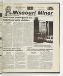 The Missouri Miner, September 20, 2000