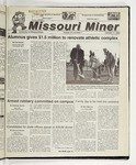 The Missouri Miner, October 11, 2000