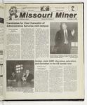 The Missouri Miner, November 08, 2000