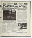 The Missouri Miner, November 15, 2000