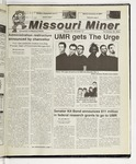 The Missouri Miner, November 29, 2000
