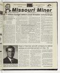 The Missouri Miner, December 06, 2000